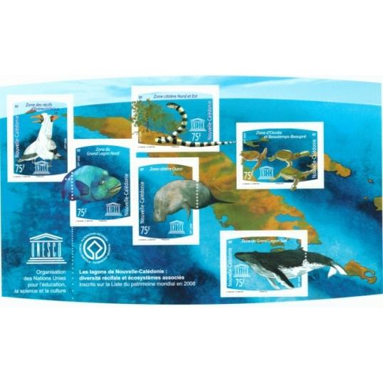 Inscription des lagons de Nouvelle Calédonie au patrimoine Mondial par l'UNESCO