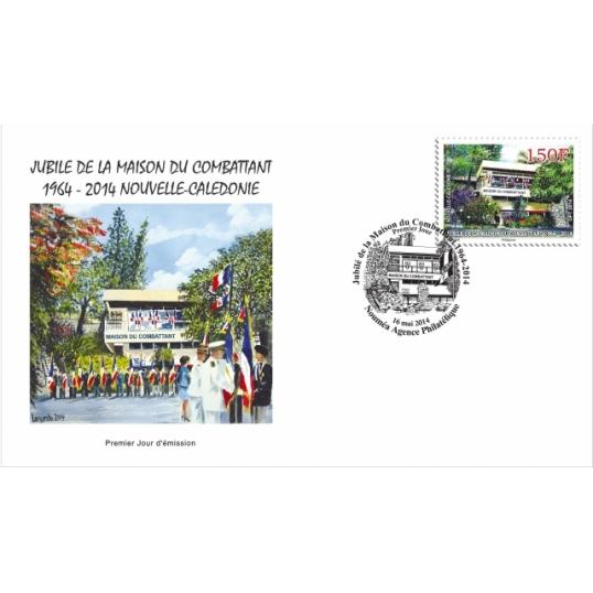 Jubil de la maison du combattant 1964 2014 cal doscope - Office des postes et telecommunications de nouvelle caledonie ...