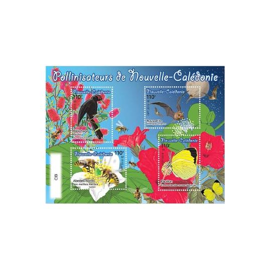 Timbres pollinisateurs de Nouvelle-Calédonie