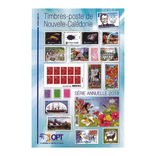 Annual year stamps 2018